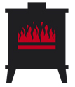 TFS Woodstoves logo